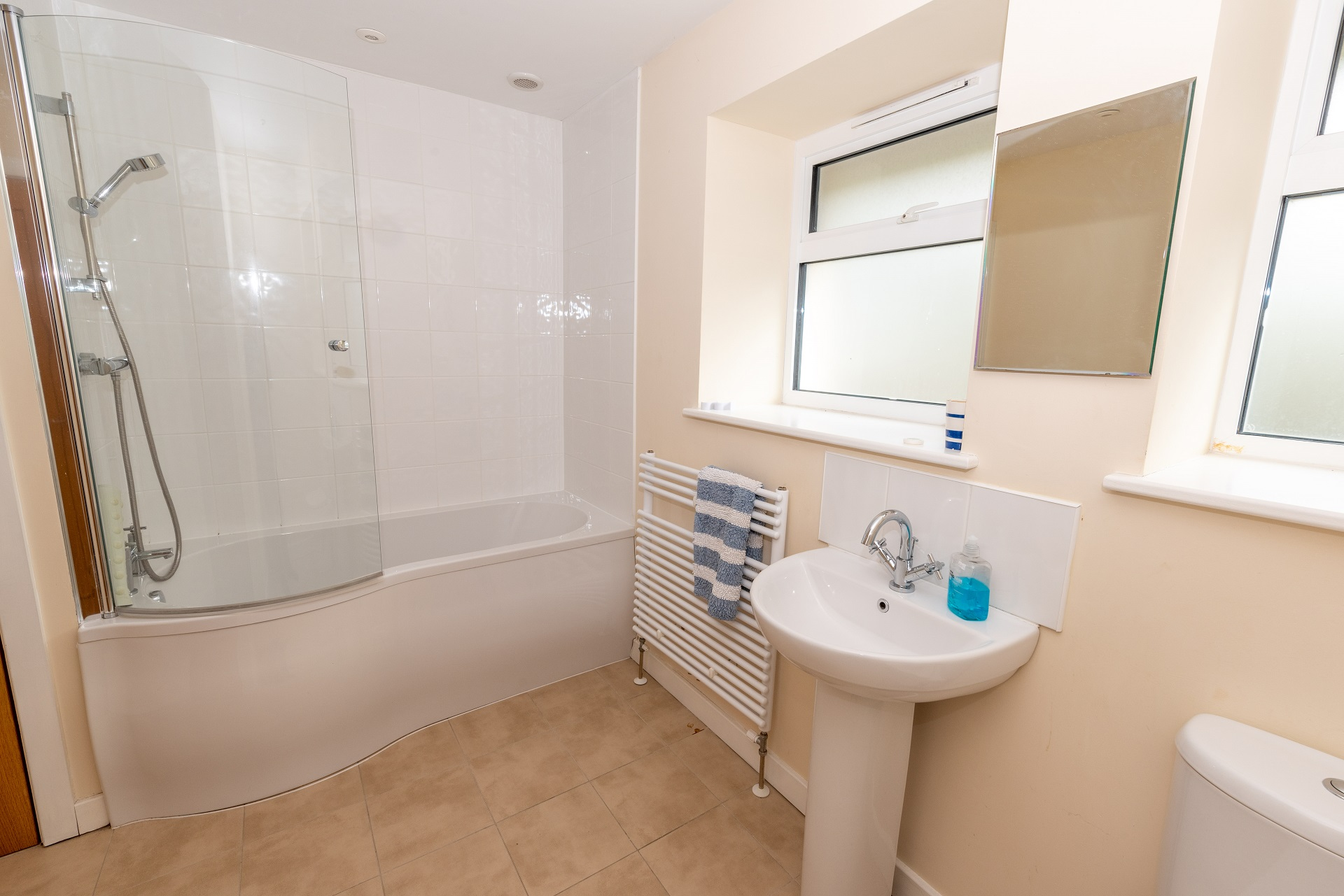 Golden Retreat Bathroom
