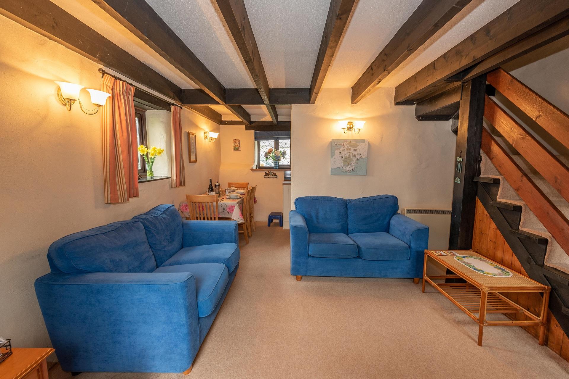 Byre Cottage Lounge Kitchen Diner 11