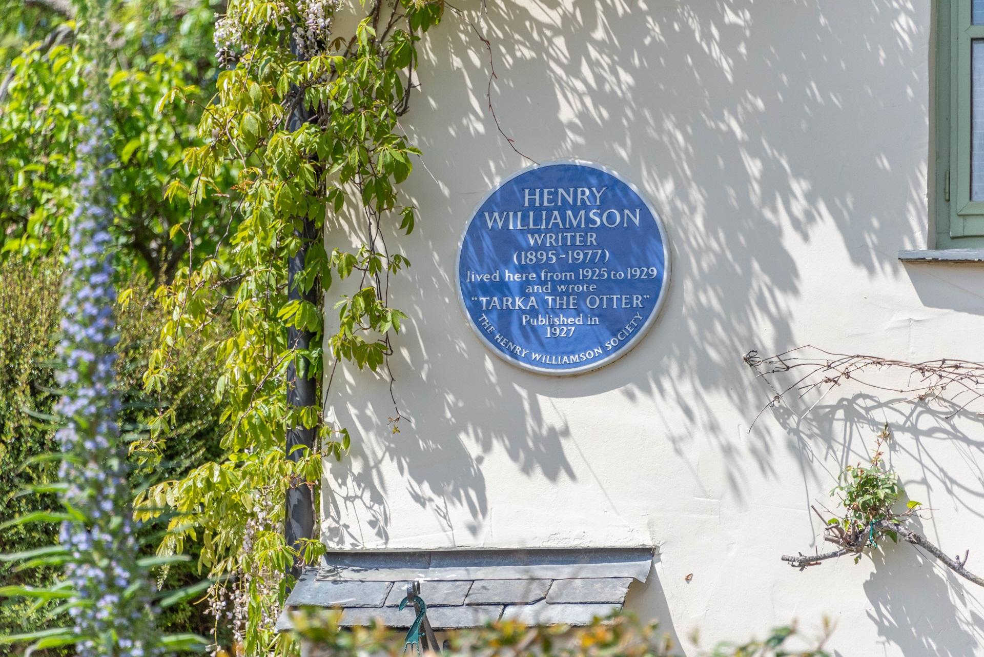 Billygoldsworthy Blue Plaque