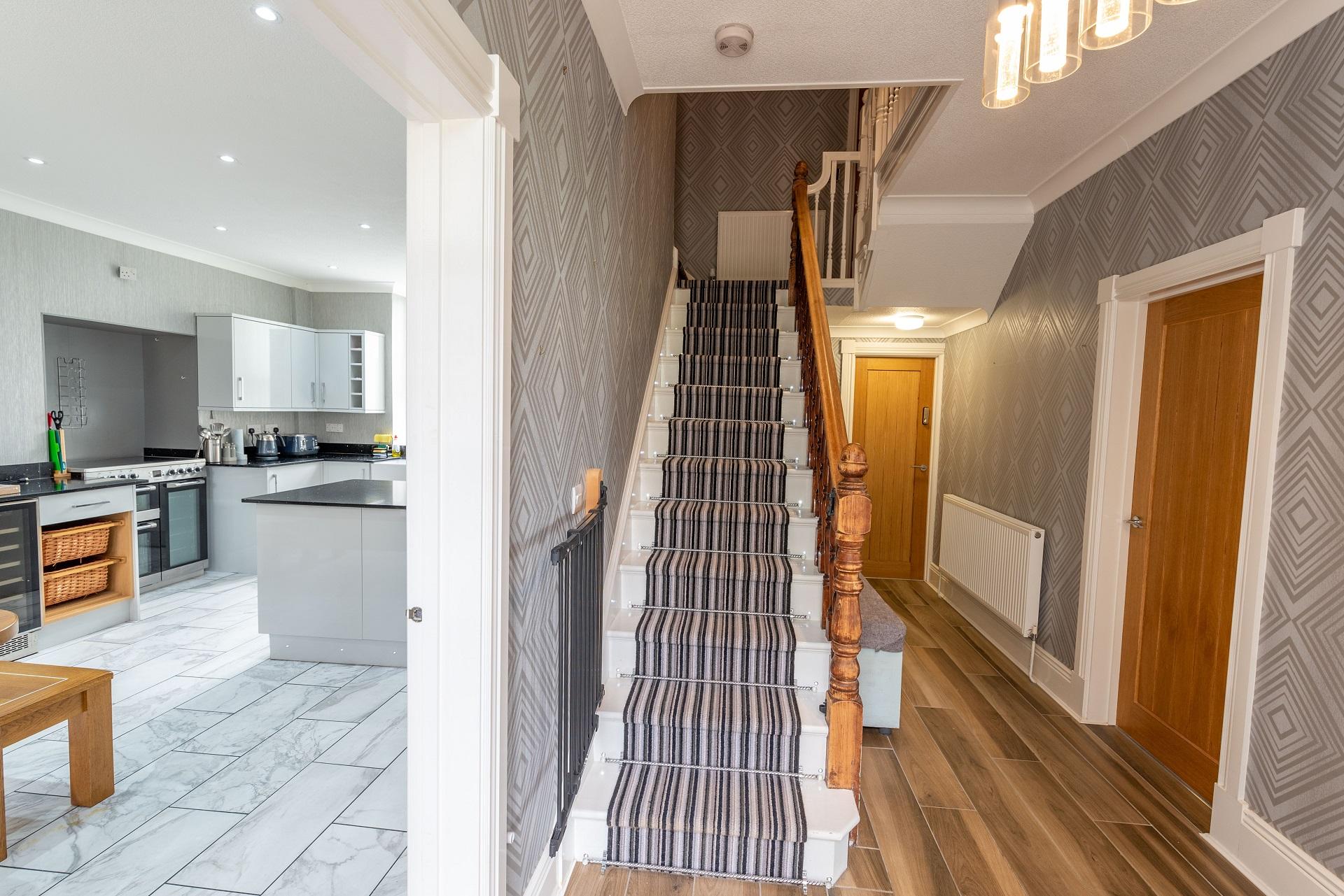 Combesgate House Hallway